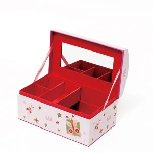 JB16001 Pink Portable Convenient Jewelry Box