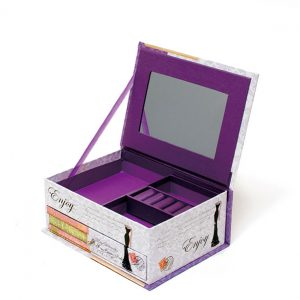 JB16002 Convenient Portable Jewelry Box