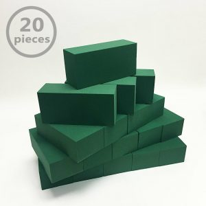 Box of 20pcs Grade A Wet Floral Foam Bloacks/Bricks for Fresh Flowers