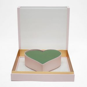 1125APnk Acrylic Pink Photo Frame Flower Box