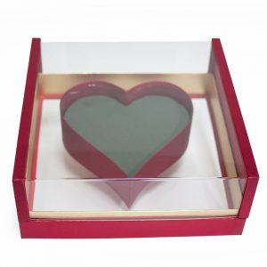 1125ARD Acrylic Red Photo Frame Flower Box