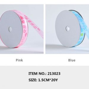 213023 It's a Girl Or It's A Boy Ribbons 1.5 cm By 20 Yards