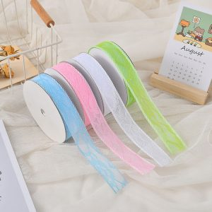 313107 1 Inch Lace Ribbons  1 Inch By 20 Yards