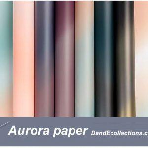 Plastic Aurora Flower Wraps 20 pcs Per Bag