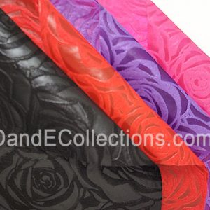 Woven Blossom Roses Flower Wraps Multiple Color 30 Meters per Roll