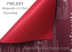 Burgundy + Lt. Red