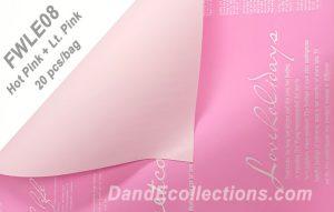 Hot Pink + Lt. Pink