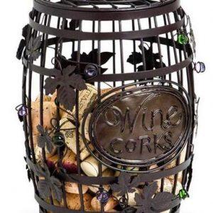 H995 Rustic Wine Cork Cage