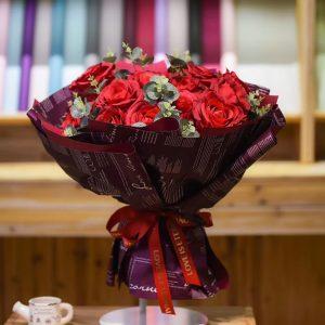 Plastic Love English Flower Wraps 20 pcs Per Bag