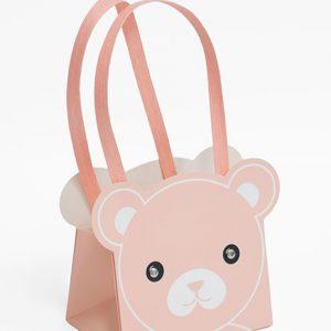 8161 Pink Bear Bag